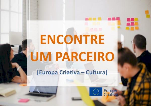 Encontre um parceiro - calls Europa Criativa Cultura 2021